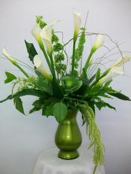 Elegant Calla Lilies from Bunn Flowers & Gifts, local florist in Pittsburg, TX